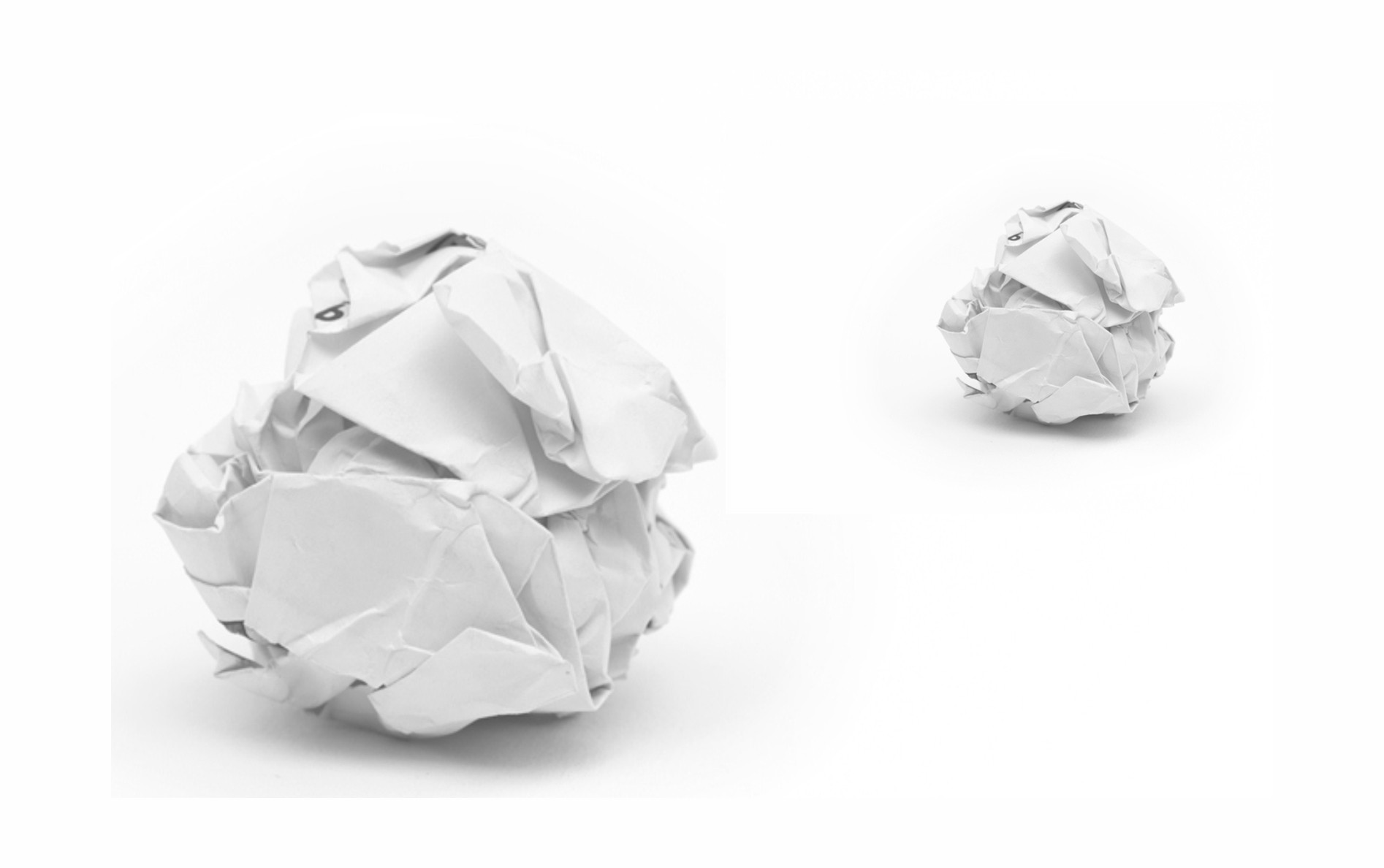 Crumpled Up Paper - Home -