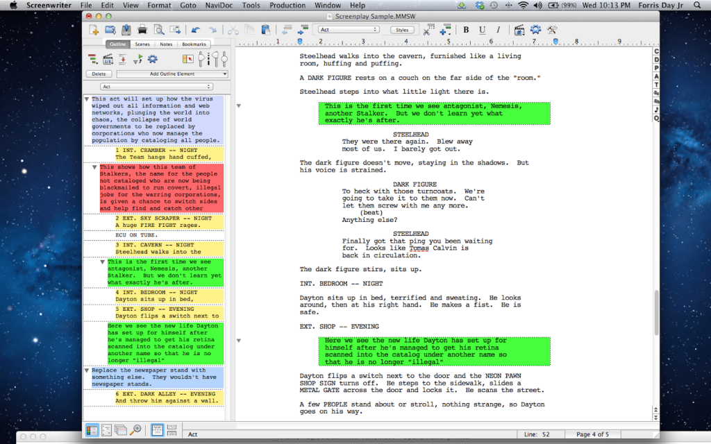 Movie Magic Screenplay Software 2020 1 1024x640 - The Best Script Writing Software For Screenwriters 2020 - tools-equipment, script, production-office, pre-production